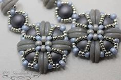 Crescent Beads & 2-Hole Cabochons