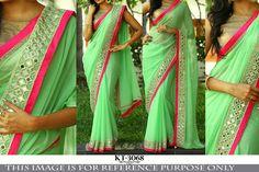 Indian Bollywood Saree Designer Sari Party wear Lehenga Pakistani KT-3068 #Unbranded #Saree