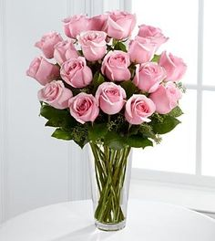 Long Stem Pink Rose Bouquet by FTD - DELUXE - http://yourflowers.us/?p=5076