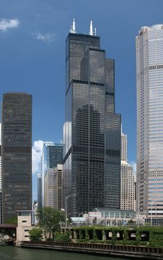 Willis Tower (ex Sears Tower). Image © TonyTheTiger [Wikipedia] bajo licencia CC BY 2.0