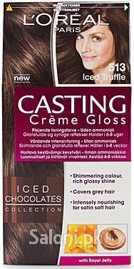 loreal paris casting creme gloss 513 iced truffle saloni health - Coloration L Oreal Caramel