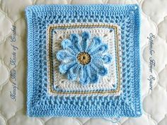 September Flower Square free Pattern on Ravelry.com