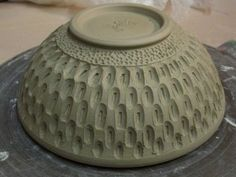 Gary Jackson-carved bowl--carving inside of carving