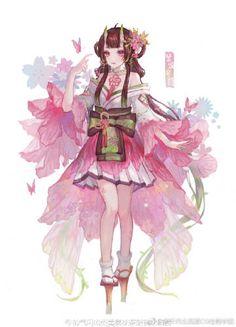 个人主页 Anime Chibi, Kawaii Anime, Manga Anime, Anime Kimono, Anime Dress, Pretty Art, Cute Art, Character Concept, Character Art