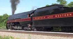 Norfolk & Western J #611 Manassas to Front Royal (Pacing)