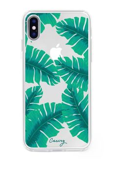 Banana Leaves iPhone X Case #iphonexcase, #iphone10,