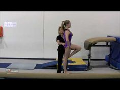 Body Position for Full Turn on Beam - Kellie Mizoguchi How To Do Gymnastics, Gymnastics At Home, Gymnastics Tricks, Gymnastics Skills, Gymnastics Coaching, Gymnastics Training, Olympic Gymnastics, Gymnastics Posters, Olympic Games