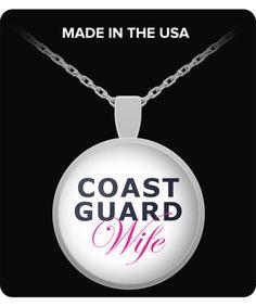 Coast Guard Wife - Necklace