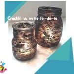 crackle #diy #jar #glue #glass