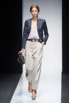 Gianfranco Ferré at Milan Fashion Week Spring 2014 - StyleBistro