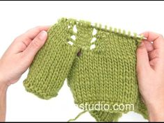 DROPS Crocheting Tutorial: How to start the crocheted jacket with lace pattern in DROPS 156-42 - YouTube