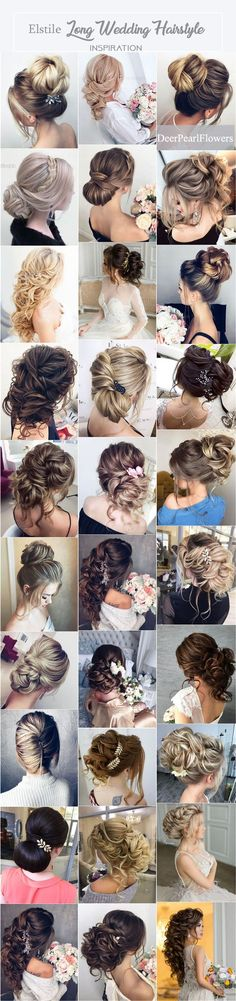 Long Wedding Hairstyle Inspiration