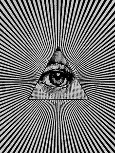 the all knowing eye.