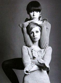 Peggy Moffitt & Twiggy