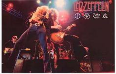 A great Led Zeppelin poster! Robert Plant, Jimmy Page, John Paul Jones, and John Bonham wield the Hammer of The Gods! Ships fast. 11x17 inches. Ramble On over and check out the rest of our selection o
