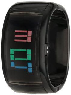 o.d.m Women's DD109-01 Pixel Daze Digital Bangle Watch: Watches: Amazon.com