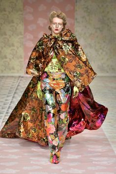 Richard Quinn Fall 2018 Ready-to-Wear Collection - Vogue