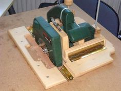 Wim Joosten's homemade table saw