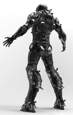 Robotshop Makes Waves In The Canadian Robotics Industry – Viral Gossip Robot Concept Art, Armor Concept, Suit Of Armor, Body Armor, Armadura Sci Fi, Arte Robot, Iron Man Armor, Futuristic Armour, Sci Fi Armor