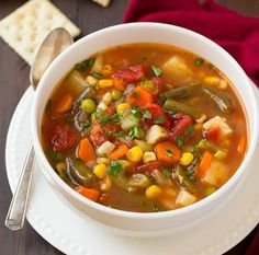"""You may remember this as """"Goulash"""" or """"Cowboy Delight"""" but lets be honest what kind of names are those for a dinner meal? Definitely not the classiest bu - Comfort Food Recipes Veggie Soup Recipes, Homemade Vegetable Soups, Dinner Recipes, Healthy Recipes, Easy Cooking, Cooking Recipes, Cheap Meals, Convenience Food, Eating Habits"""