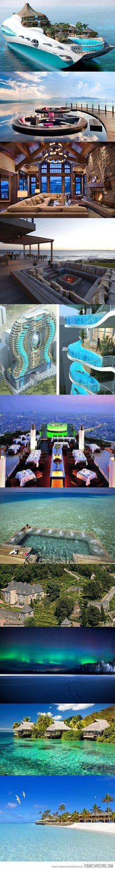 Some places to visit before you die…