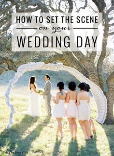 Wedding Planning Tips: How To Set The Scene On Your Big Day