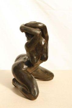 Veronique Kalitventzeff - Désir Ceramic Sculpture Figurative, Abstract Sculpture, Wood Sculpture, Sculptures Céramiques, Art Africain, Erotic Art, Clay Art, Female Art, Sculpting