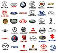 Car Logos With Names Pdf