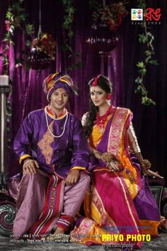 wow the colors!  Bridal Collection of Rang