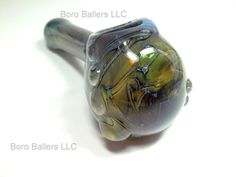Glass Pipe SPACE PIPE Galaxy Hand Blown Glass READY by LoudActions, $36.00