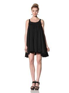 Billy Reid Women's Babydoll Dress (BLACK),$114.00