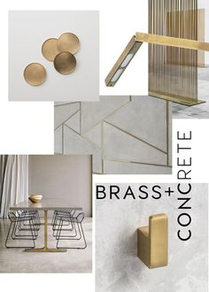Brass interior trend 2017 - ITALIANBARK interior design blog #brass #interiortrends   We love the retro allure of brass finish. Let's run into the post to check the latest inspirations on brass interior trend on ITALIANBARK