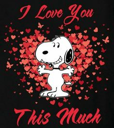 snoopy love you Charlie Brown Quotes, Charlie Brown And Snoopy, Peanuts Cartoon, Peanuts Snoopy, Cartoon Cow, Snoopy Valentine, Happy Valentines Day, Snoopy Love, Snoopy And Woodstock