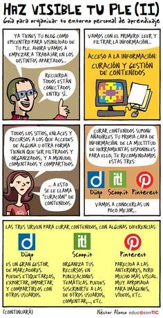 Haz visible tu PLE (II) de Néstor Alonso. Mucho más sobre formación TIC en www.solerplanet.com