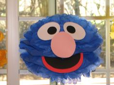 how to make tissue paper sesame street characters - Google Search