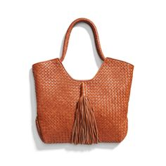 Stitch Fix Spring Must-Haves: Cognac Leather Tote