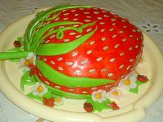 Мастер класс торт Клубника. Заказать торт Клубника в Киеве.