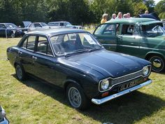 Ford Escort Mark 1. Mine was an Estate Card in White