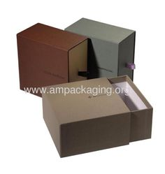 Packaging - drawer/pull out box