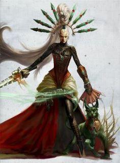 Eldar 40k, Warhammer Eldar, Warhammer 40k Figures, Dark Eldar, Warhammer Models, Fantasy Warrior, Sci Fi Fantasy, Cyberpunk, Character Art