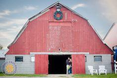 Engagement   New England Portrait Photographer #engagementphotography #couplesportrait #redbarn #farmengagement #naturallight #SadieErinPhotography