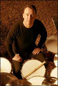 Neil Peart, drummer for Rush.  Honourary music teacher.  I always wanted to play the drums.
