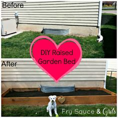 Fry Sauce & Grits: DIY Raised Garden Bed