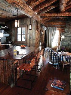 Rustic Cabin Look