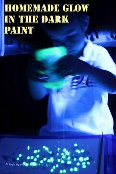 Glow in the dark fun!