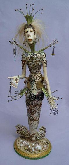 Linda Hollerich Art Dolls - fun style.