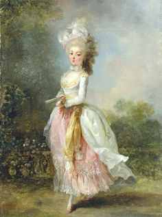 18th century paintings of women | this is a favorte one today she would look so pretty in a gilt frame ...