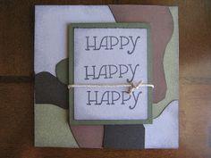 Duck Dynasty: Happy Happy Happy card