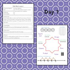 This #teaching unit provides 12 days of instruction Problem Solving Activities, Teaching Activities, Multiplication Facts, Math Facts, Math Lesson Plans, Math Lessons, Data Tracking, Math Talk, Learning Targets