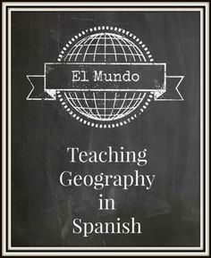 This provides a links to resources teachers may purchase to teach geography to younger students.